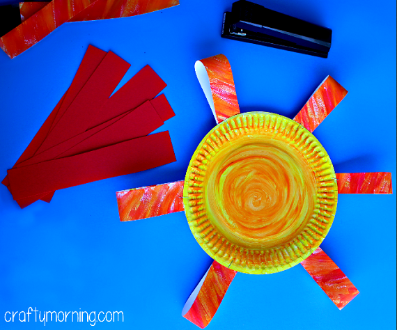 Paper Plate Flower Craft For Kids Crafty Morning
