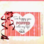DIY Popcorn Valentine's Day Classroom Treat Idea For Kids