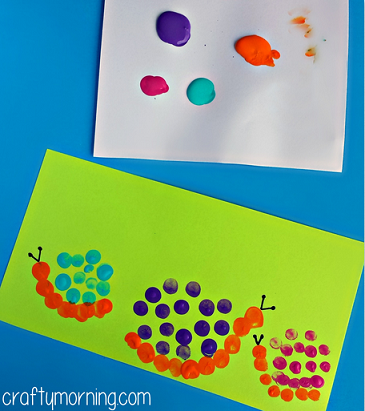 snail-fingerprint-craft-for-kids