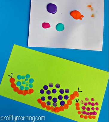 snail-fingerprint-craft-for-kids
