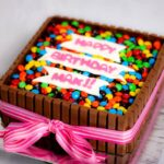 DIY Birthday Cakes Using Kit Kats (Chocolate Bars)