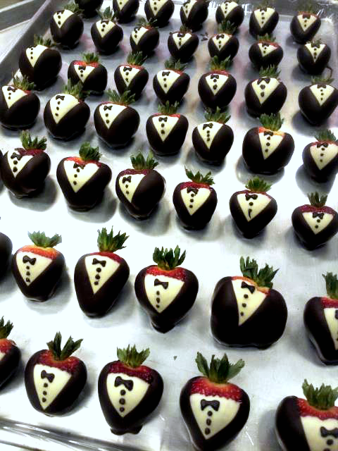 How To Make Tuxedo Strawberries Crafty Morning