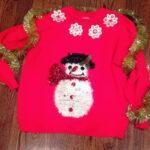 DIY Handmade Ugly Christmas Sweater Ideas