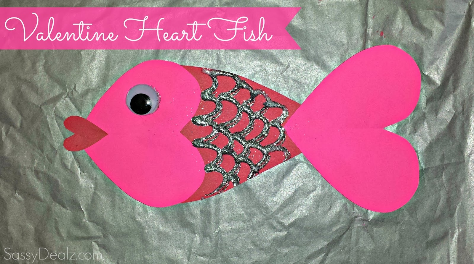 Valentine heart fish craft for kids crafty morning for Fish for kids