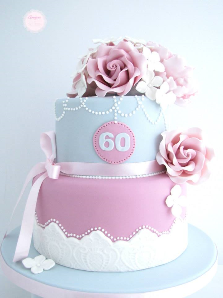 Cake Designs For 60th Birthday : 60th Birthday Cake Ideas - Crafty Morning