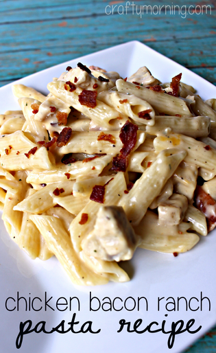 Ranch chicken and noodles recipe