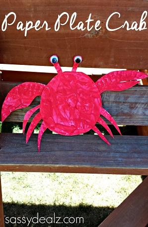 crab-paper-plate-crafts-kids