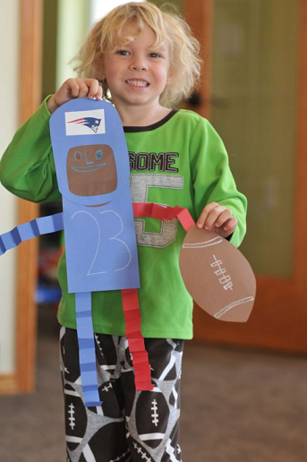 Football Crafts For Kids To Make Crafty Morning
