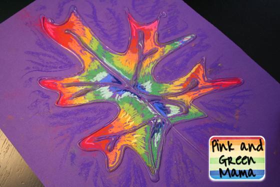 glue-chalk-leaf-craft-for-kids