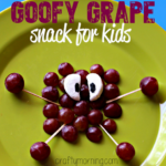 Goofy Grape Snack for Kids