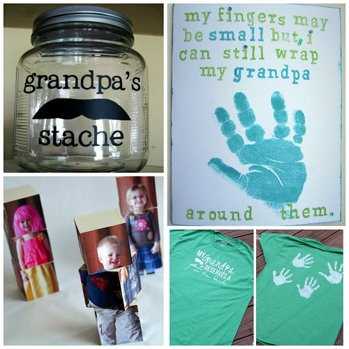 Creative Grandparent\'s Day Gifts to Make - Crafty Morning