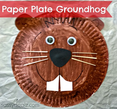 groundhog-paper-plate-kids-craft