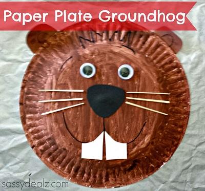 groundhog-paper-plate-kids-craft