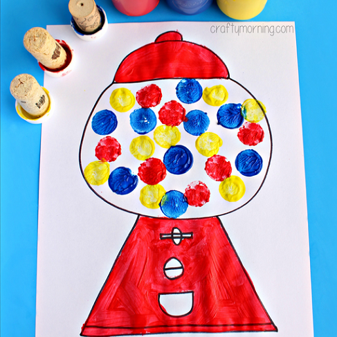 Easy Gumball Machine Craft
