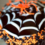 Creative Spiderweb Cupcakes Design