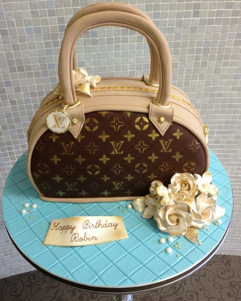 Purse Design Birthday Cake