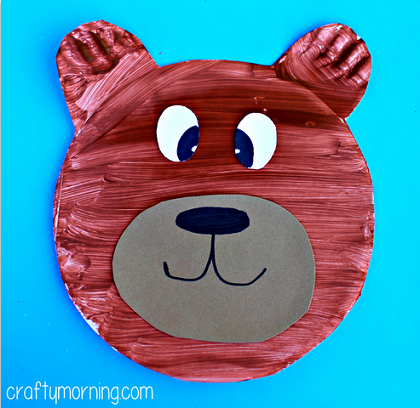 paper-plate-bear-craft-for-kid  sc 1 st  Crafty Morning & Paper Plate Bear Craft for Kids - Crafty Morning