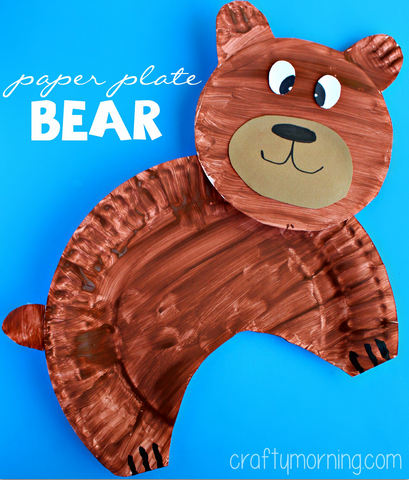 Bear Craft Toddlers