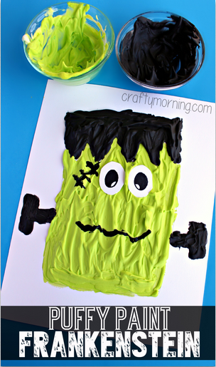 puffy-paint-frankenstein-halloween-craft-