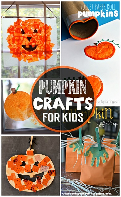 Kids Halloween Crafts Pumpkin