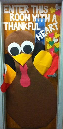 Classroom Decoration Ideas For Thanksgiving ~ Fall door decoration ideas for the classroom crafty morning