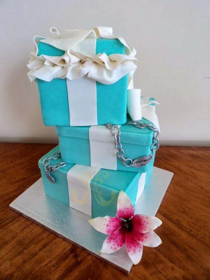 Tiffany Amp Co Birthday Cake Ideas Crafty Morning