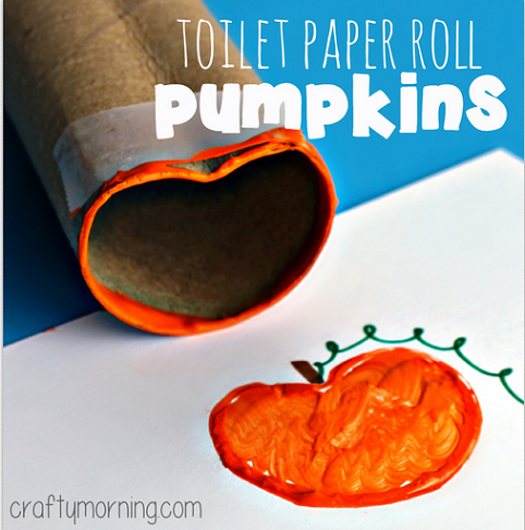 toilet-paper-roll-pumpkin-halloween-craft