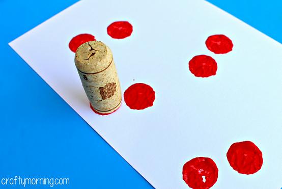wine-cork-cherries-craft-for-kids-