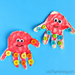 Baby Handprint Octopus Craft for Kids