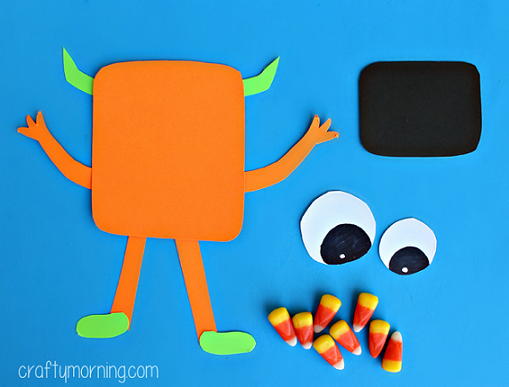candy-corn-monster-halloween-craft