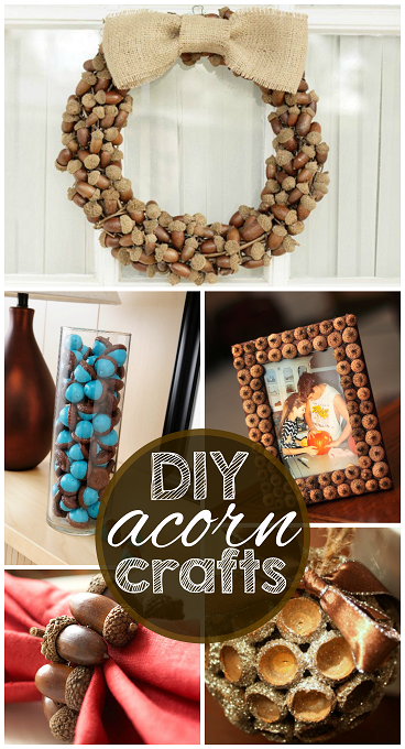 my favorite diy acorn crafts crafty morning