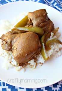One Pot Chicken Adobo Recipe