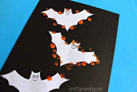 fingerprint-bat-craft-for-halloween-
