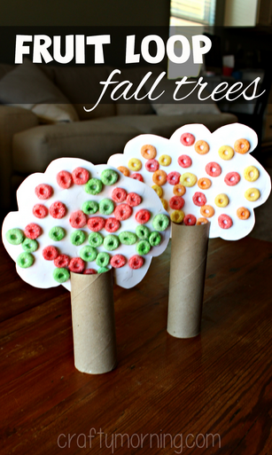 fruit-loop-fall-tree-craft-for-kids-