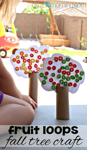 fruit-loop-fall-tree-crafts-for-kids-