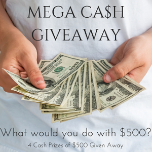 Enter to Win $500 Cash! {Kid Blogger Giveaway}