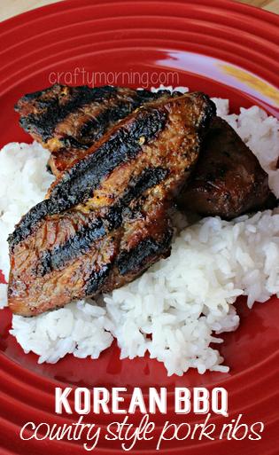 Korean Country Style Pork Ribs Recipe