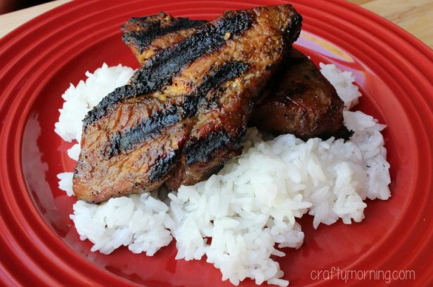 Korean Marinade Country Style Pork Ribs Recipe