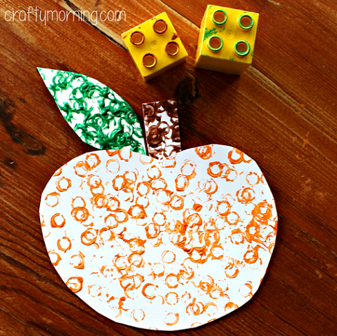 lego-stamped-pumpkin-craft-for-kids-
