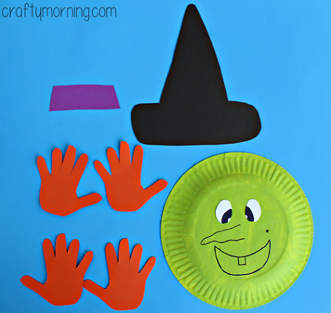paper-plate-witch-craft-for-kids-