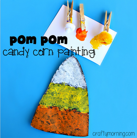 pom-pom-painting-candy-corn-craft