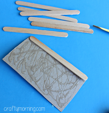 how to make a bridge with popsicle sticks and glue