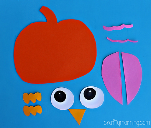 Paper Pumpkin Owl Craft For Kids Crafty Morning