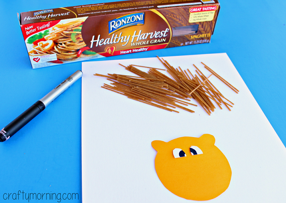 spaghetti-lion-craft-for-kids-