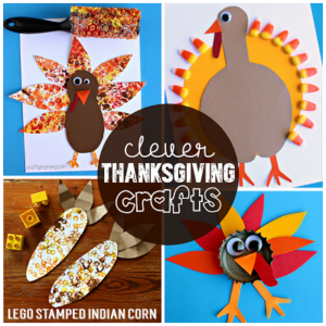Clever Thanksgiving Crafts for Kids
