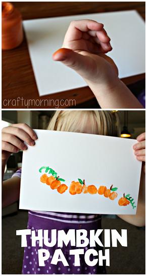 thumbprint-pumpkin-craft-for-kids-