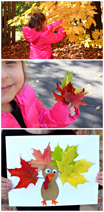 cute-leaf-turkey-craft-for-thanksgiving