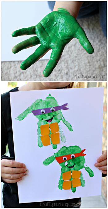 easy-handprint-ninja-turtle-craft-for-kids