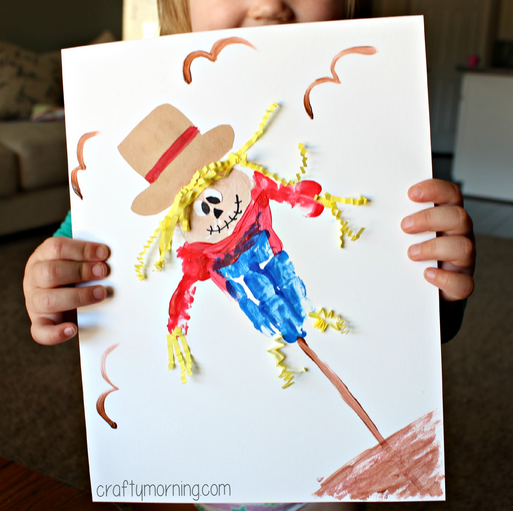 Thanksgiving Handprint Crafts For Kids