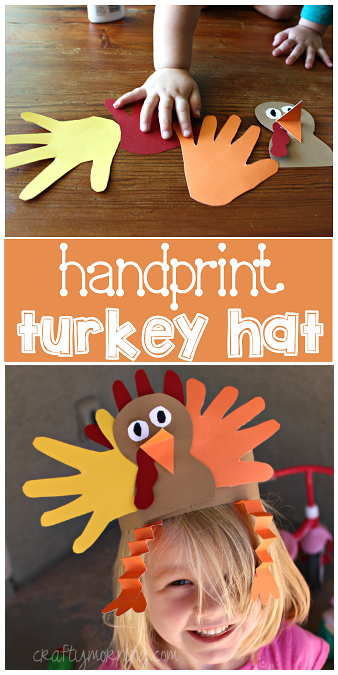 handprint-turkey-hat-craft-for-thanksgiving-